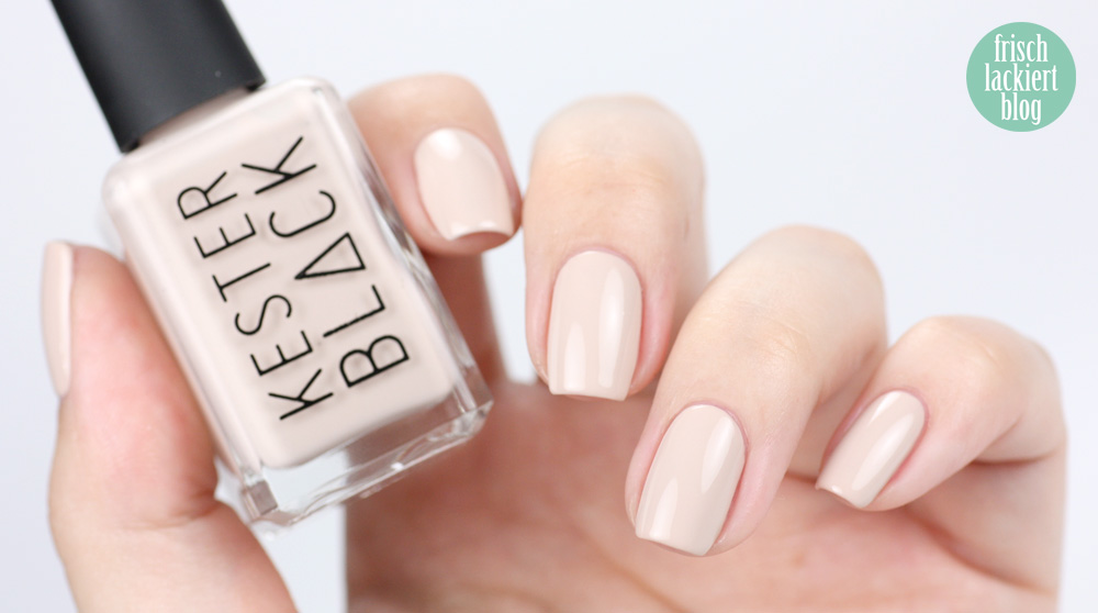 Kester Black – Buttercream - swatch by frischlackiert