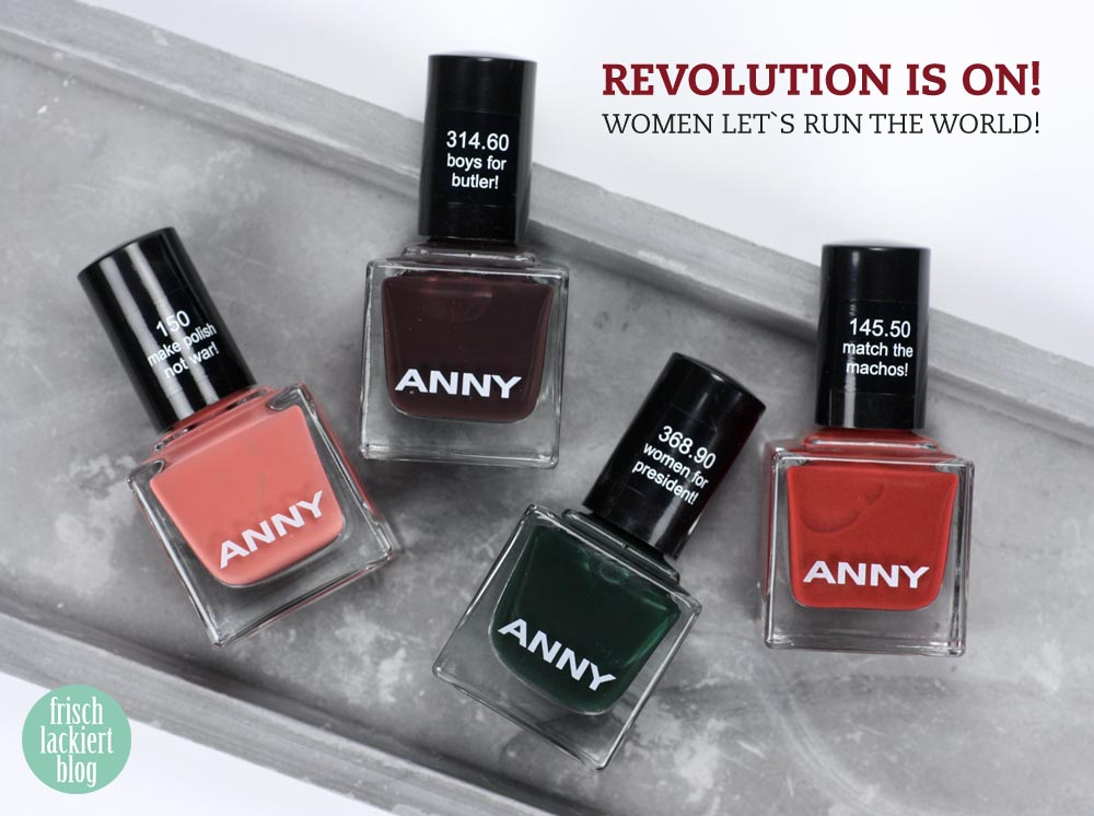 ANNY - Revolution is on – swatch by frischlackiert