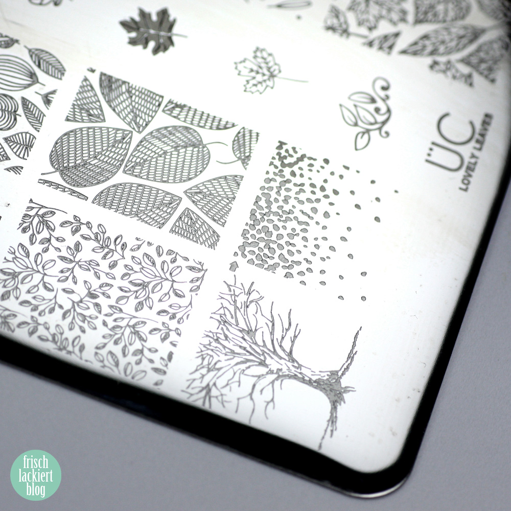 Frischlackiert-Challenge Herbstblätter – Autumn Nail Art – by frischlackiert