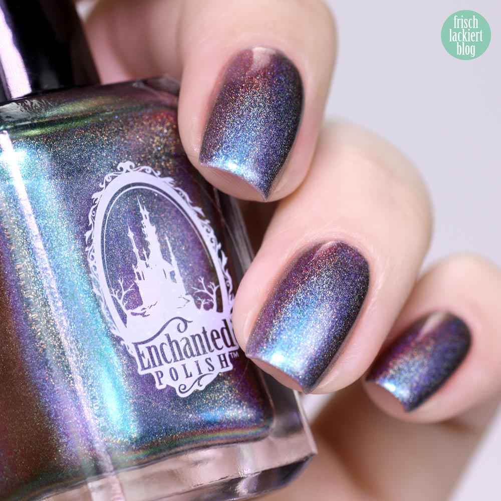 Frischlackiert-Challenge – Holo-Mania – Holo Galaxy Nailart - by frischlackiert