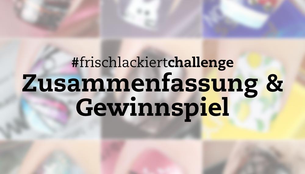 Frischlackiert-Challenge Oktober 2016 Zusammenfassung