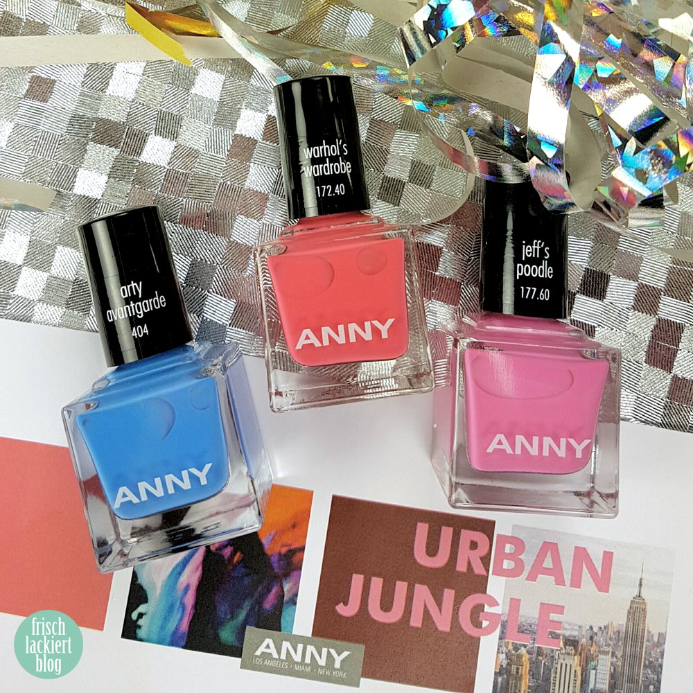 ANNY Urban Jungle Kollektion – Arty Avantgarde – swatch by frischlackiert