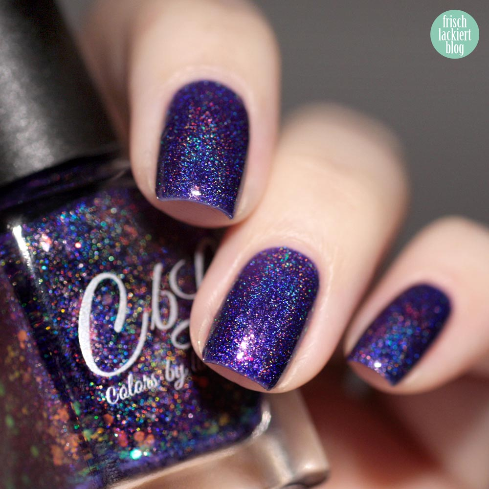 Colors by Llarowe – Siren´s Song – Polish of the month february 2017 – swatch by frischlackiert