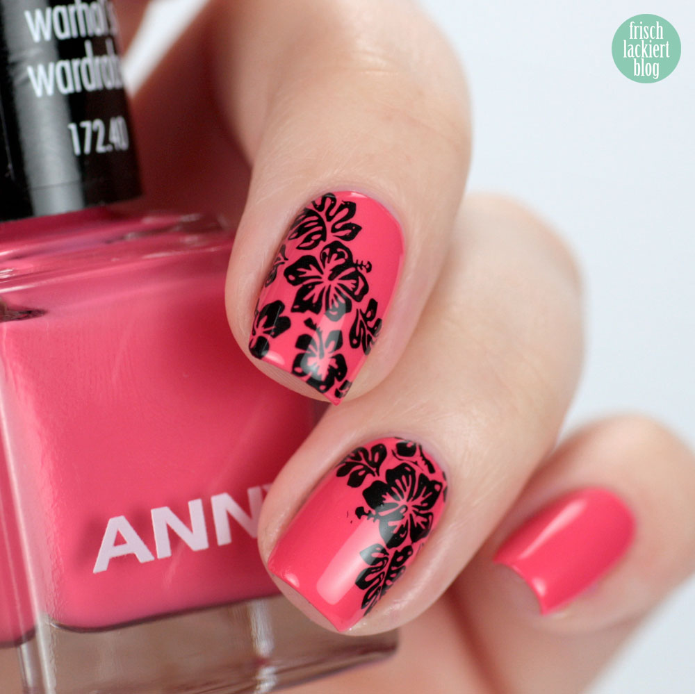ANNY warhol´s wardrobe – urban jungle Kollektion – swatch by frischlackiert – Nagellack Koralle