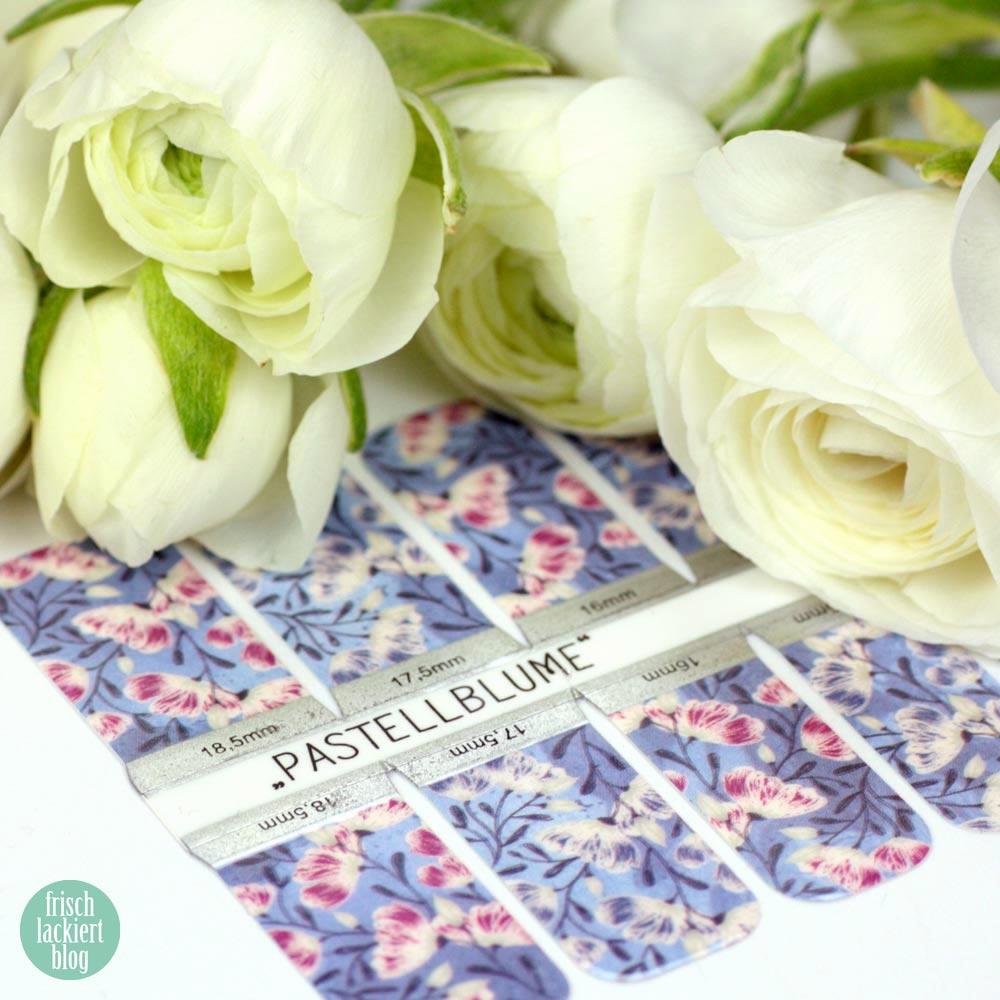 Sticker Gigant Frühlingskollektion 2017 – Pastellblume – Nailwraps – by frischlackiert