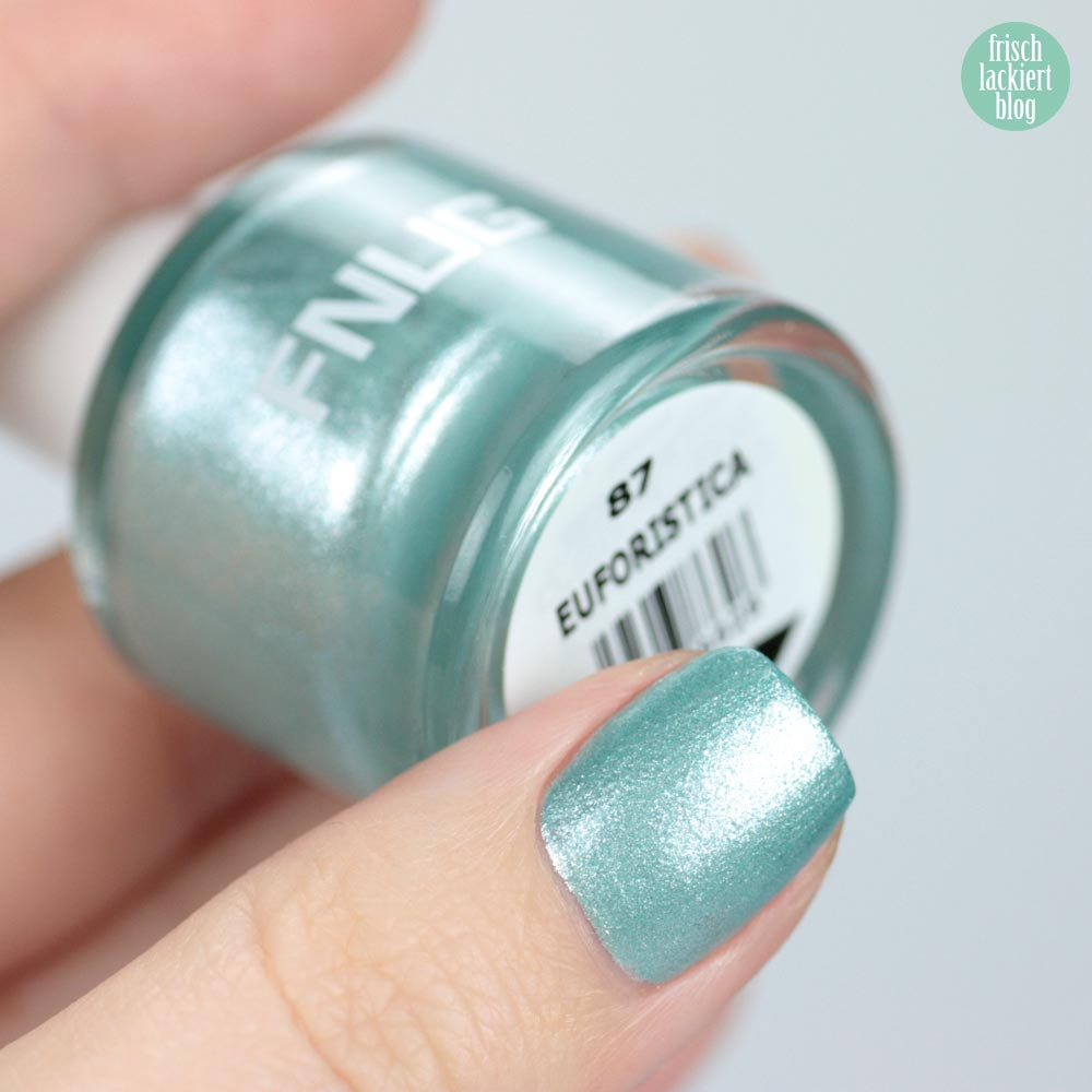 FNUG Euforistica – Blue Ice Nailpolish – swatch by frischlackiert