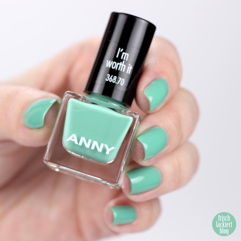 ANNY – Mini-Set – Me, Myself and I – I´m worth it – swatch by frischlackiert