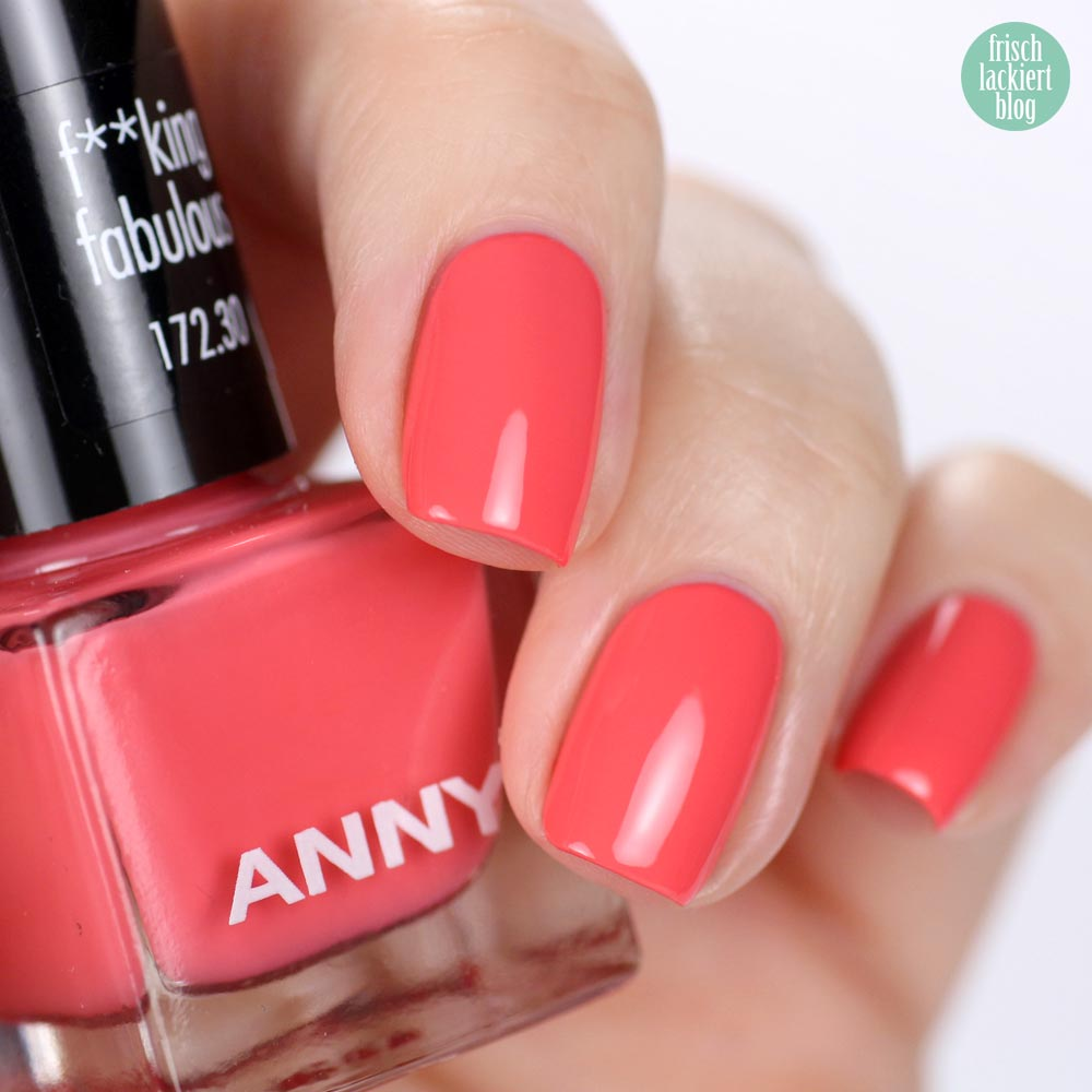 ANNY – Mini-Set – Me, Myself and I – F**king fabulous – swatch by frischlackiert