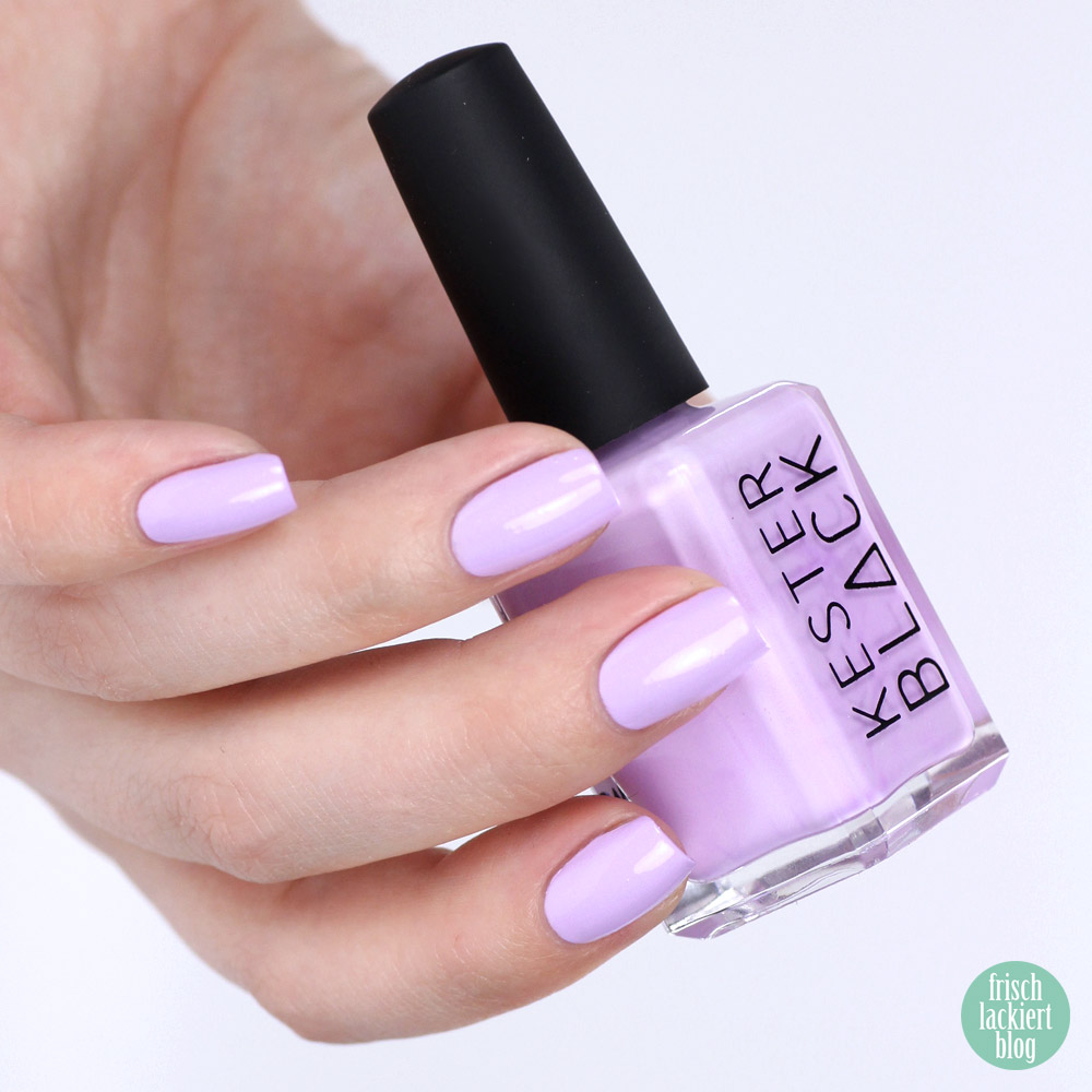 Kester Black Lilac via SavueBeauty – spring nailpolish - swatch by frischlackiert