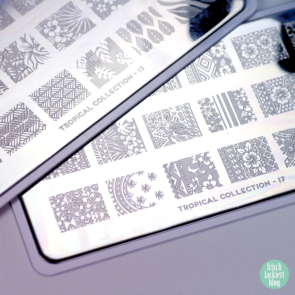 MoYou Tropcial Collection - stamping-plate – by frischlackiert
