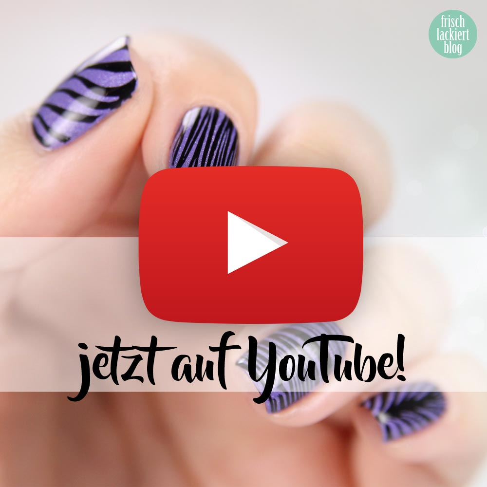 Masura Blueberry Sorbet – BundleMonster BM-XL210 – Watermarble Stamping – youtube tutorial – by frischlackiert