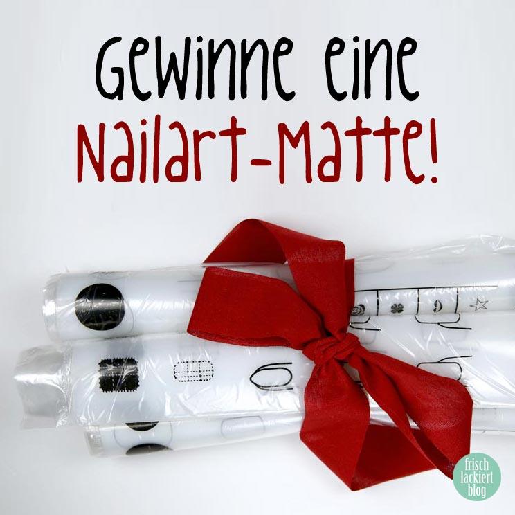 Nailstamping Mat aus Silikon von FBF GmbH – Gewinnspiel – Nailart Matte – by frischlackiert