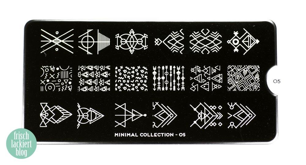 Gradient Nailart mit Decals – Moyou Minimal Collection 05 – Frischlackiert-Challenge - by frischlackiert