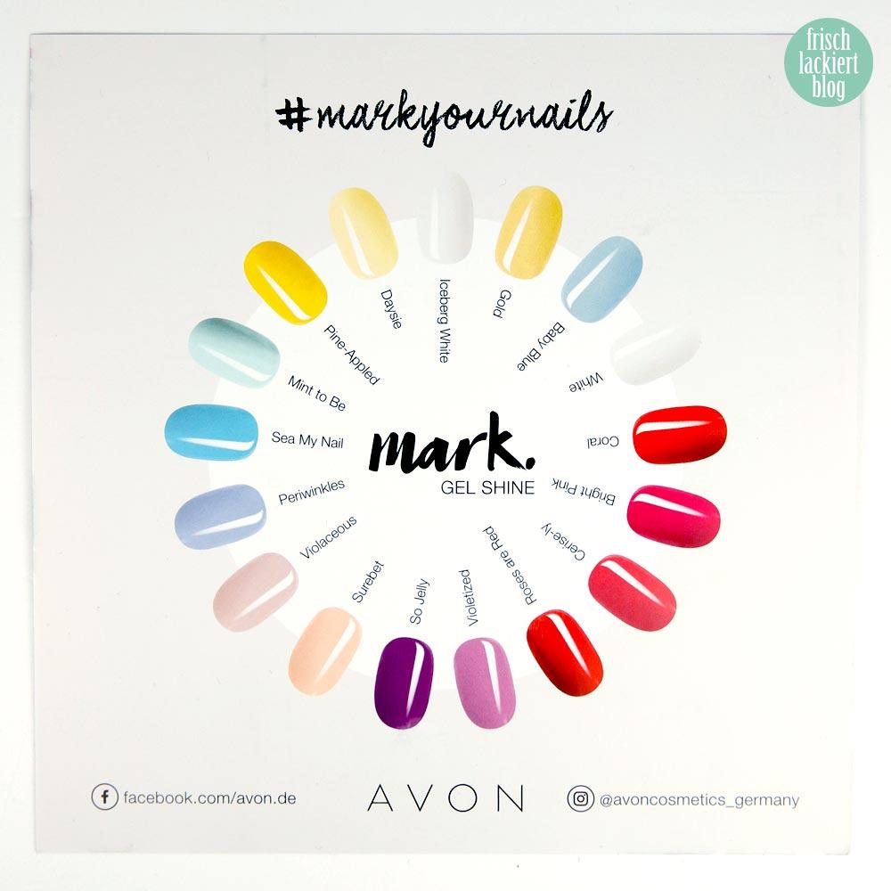 AVON #markyournails Kollektion – nailpolish - by frischlackiert