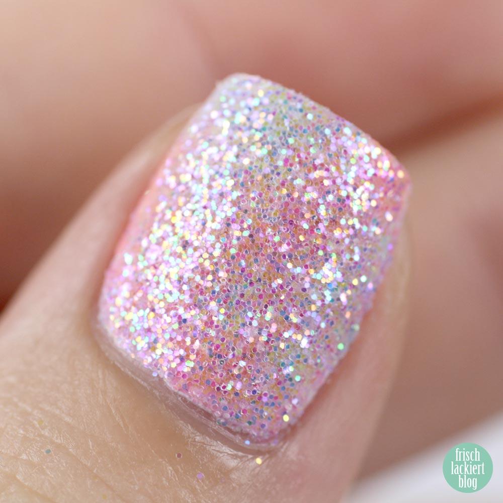 Frischlackiert-Challenge – Einhorn Nailart - Unicorn Mermaid Glitter – by frischlackiert