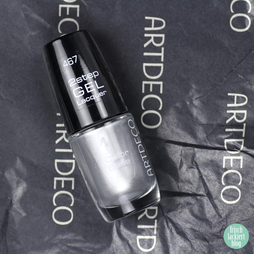 Artdeco – 2step Gel Lacquer – TAKE ME TO L.A. Metallic Nagellack – swatch by frischlackiert