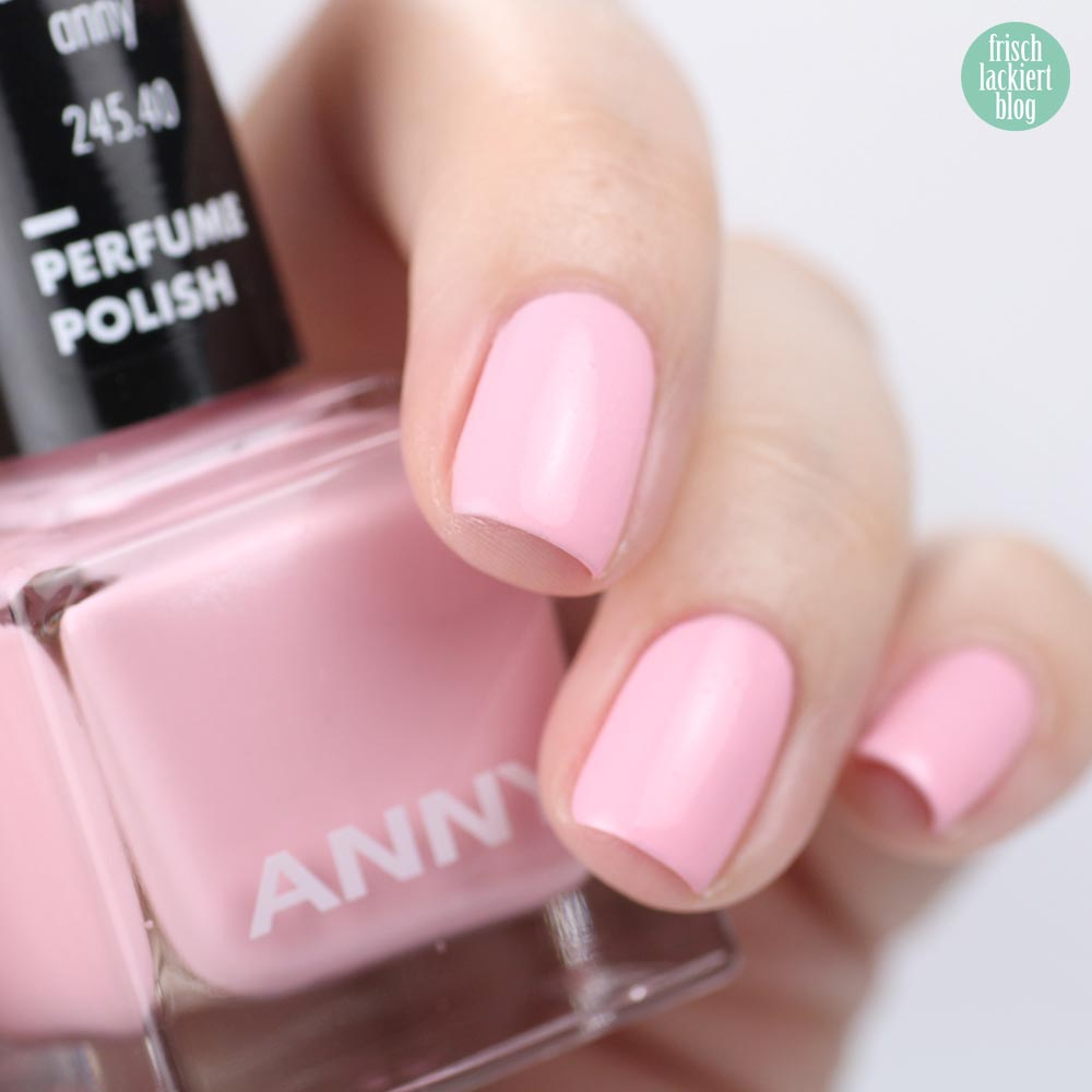 ANNY Perfume Polish – Nagellack mit Duft – mademoiselle anny – swatch by frischlackiert