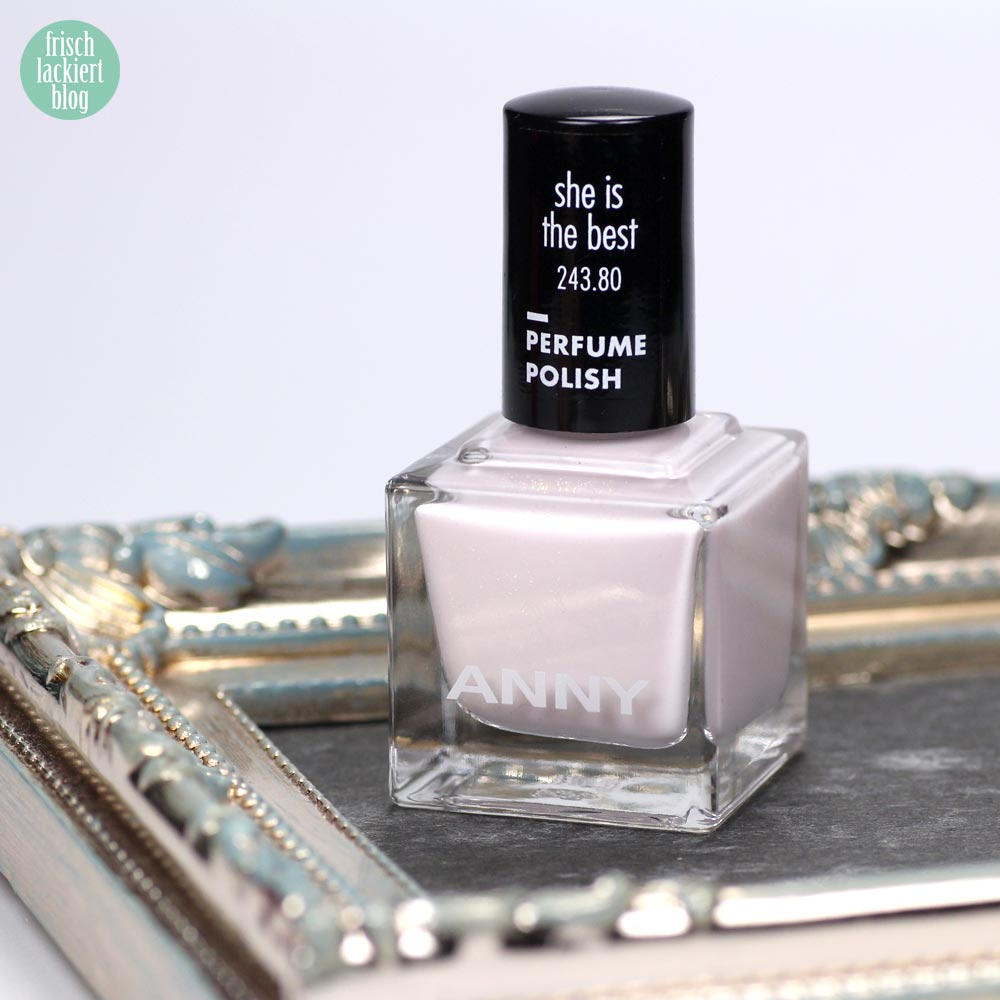 ANNY Perfume Polish – Nagellack mit Duft – she is the best – swatch by frischlackiert