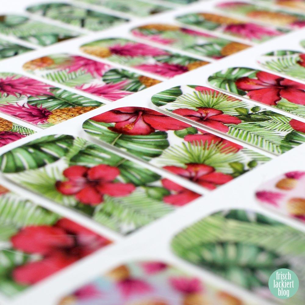Sticker Gigant Nagelsticker - Sommerkollektion 2017 – by frischlackiert