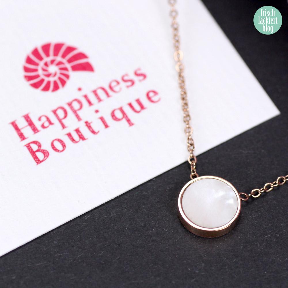 Happyness Boutique Review – Modeschmuck edel, schlicht, minimalistisch – by frischlackiert