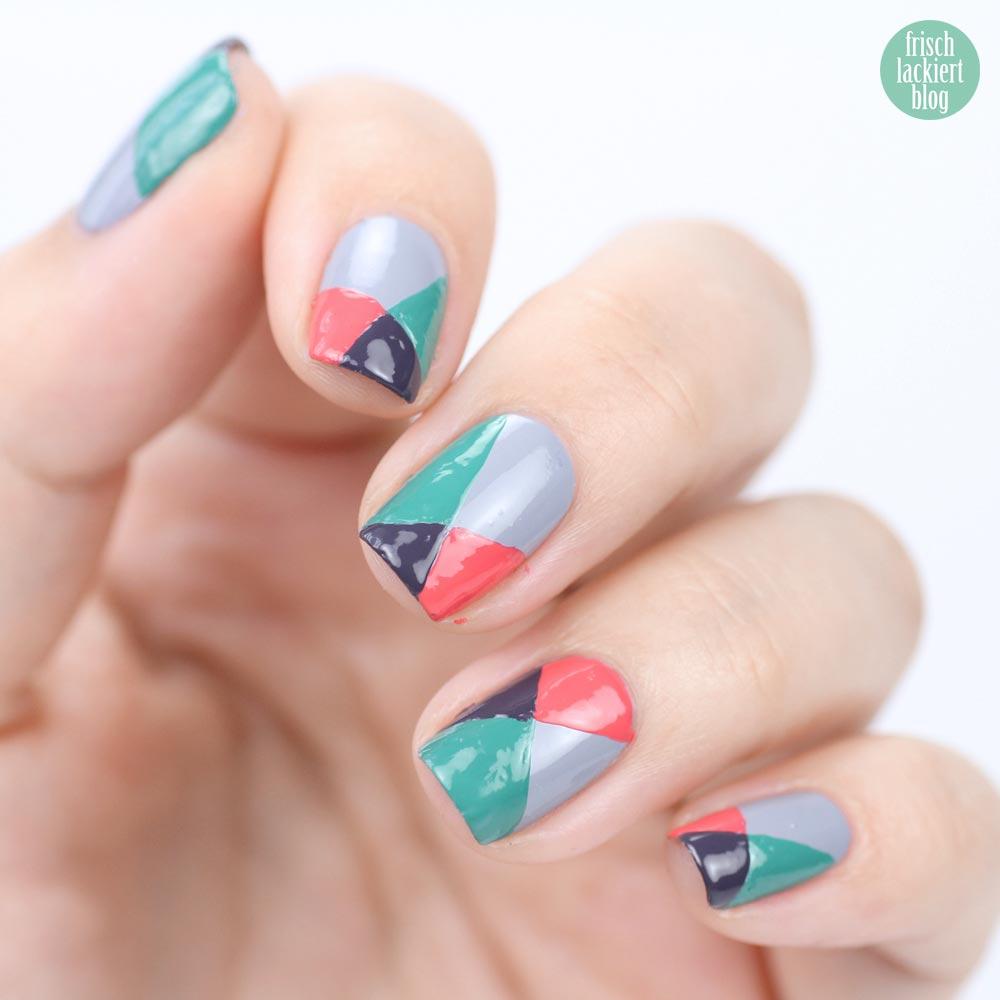 Frischlackiert-Challenge – Color Blocking Nailart – Tutorial – by frischlackiert