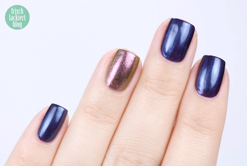 CND Vinylux Nightspell Collectopn 2017 – Eternal Midnight – swatch by frischlackiert