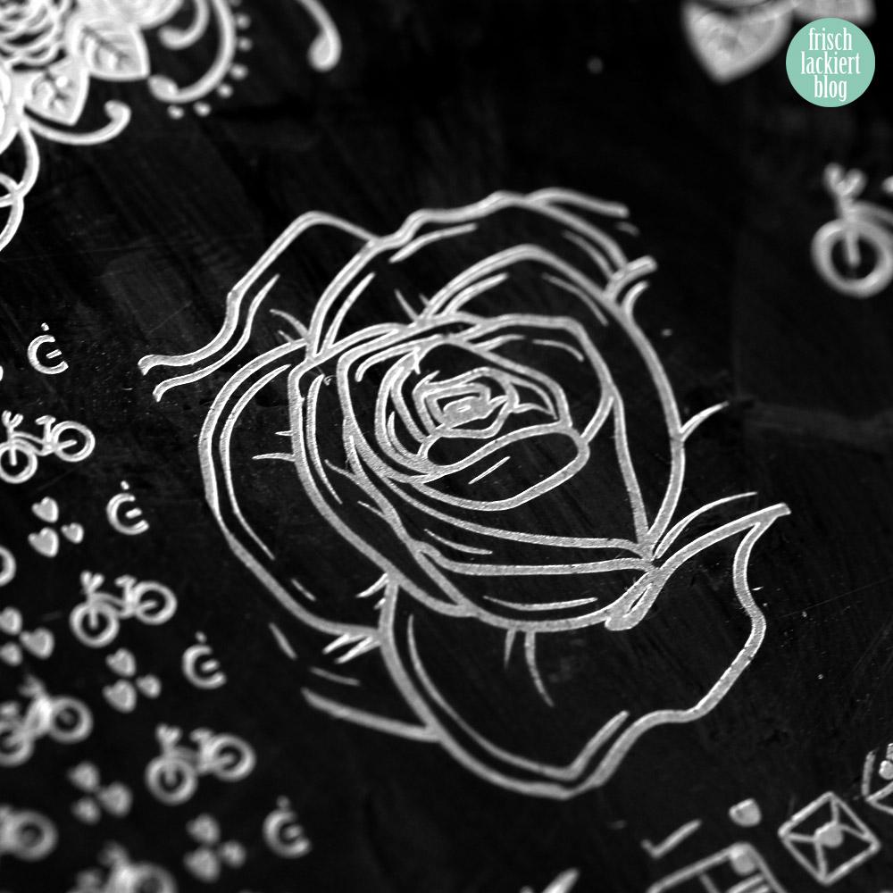 Frischlackiert-Challenge – Rosengarten – Nailart mit Rosen – Tutorial – by frischlackiert