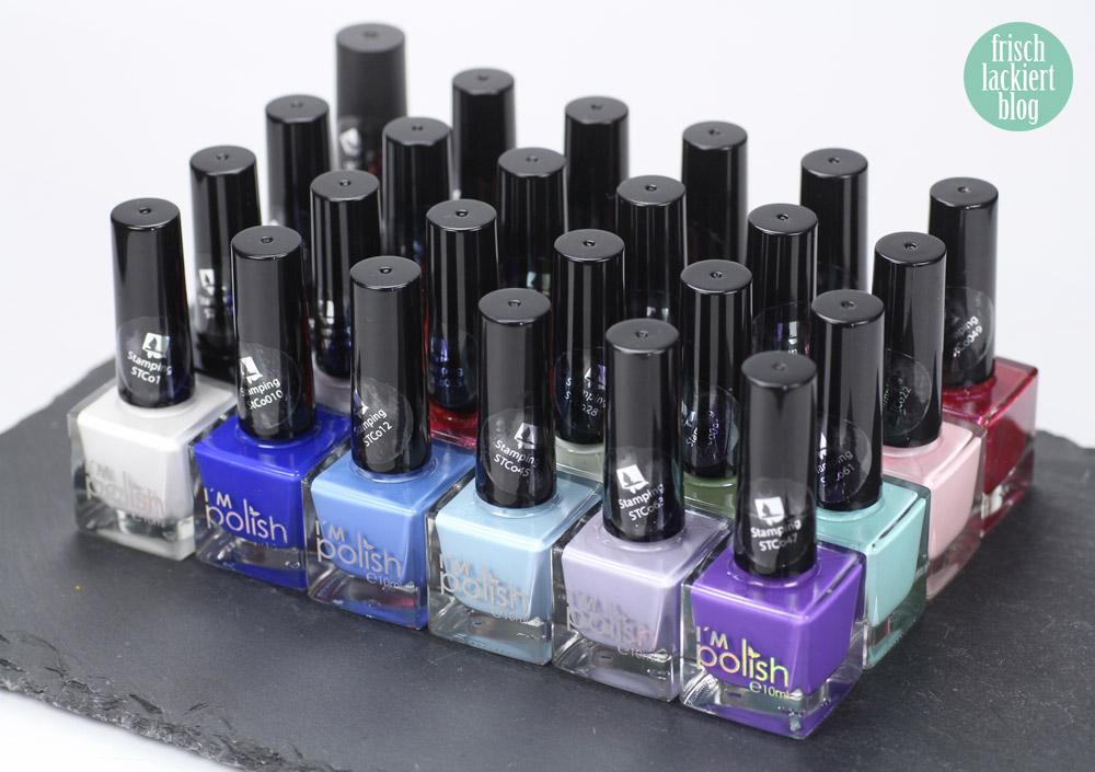 Stamping Nagellack I´m polish von brush-it.com – by frischlackiert