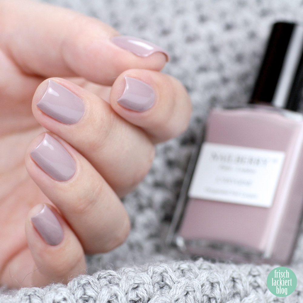 Nailberry – Mystere – purish.de – swatch by frischlackiert
