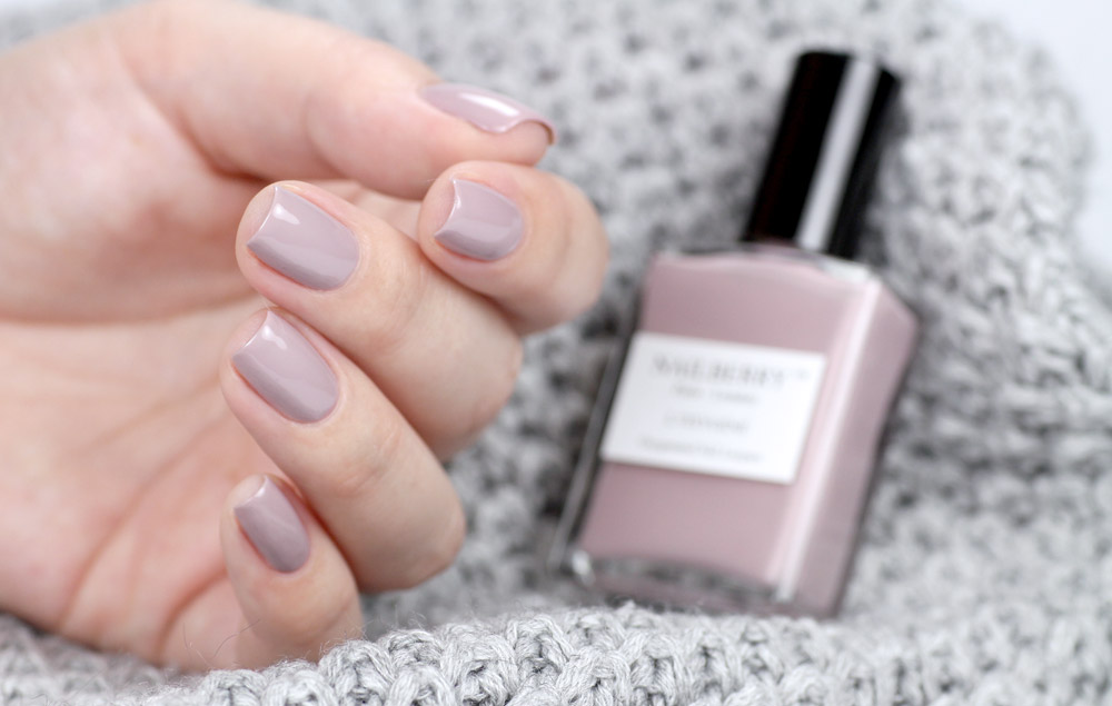 Nailberry – Mystere – purish.de – swatch by frischlackiert