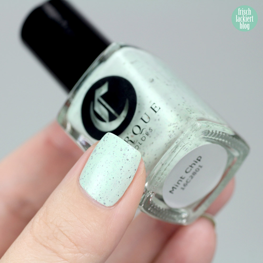 Cirque Nailpolish – Mint Chip – swatch by frischlackiert