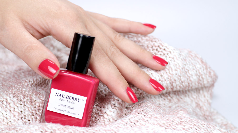 Nailberry Pinkberry – pink nailpolish – swatch by frischlackiert