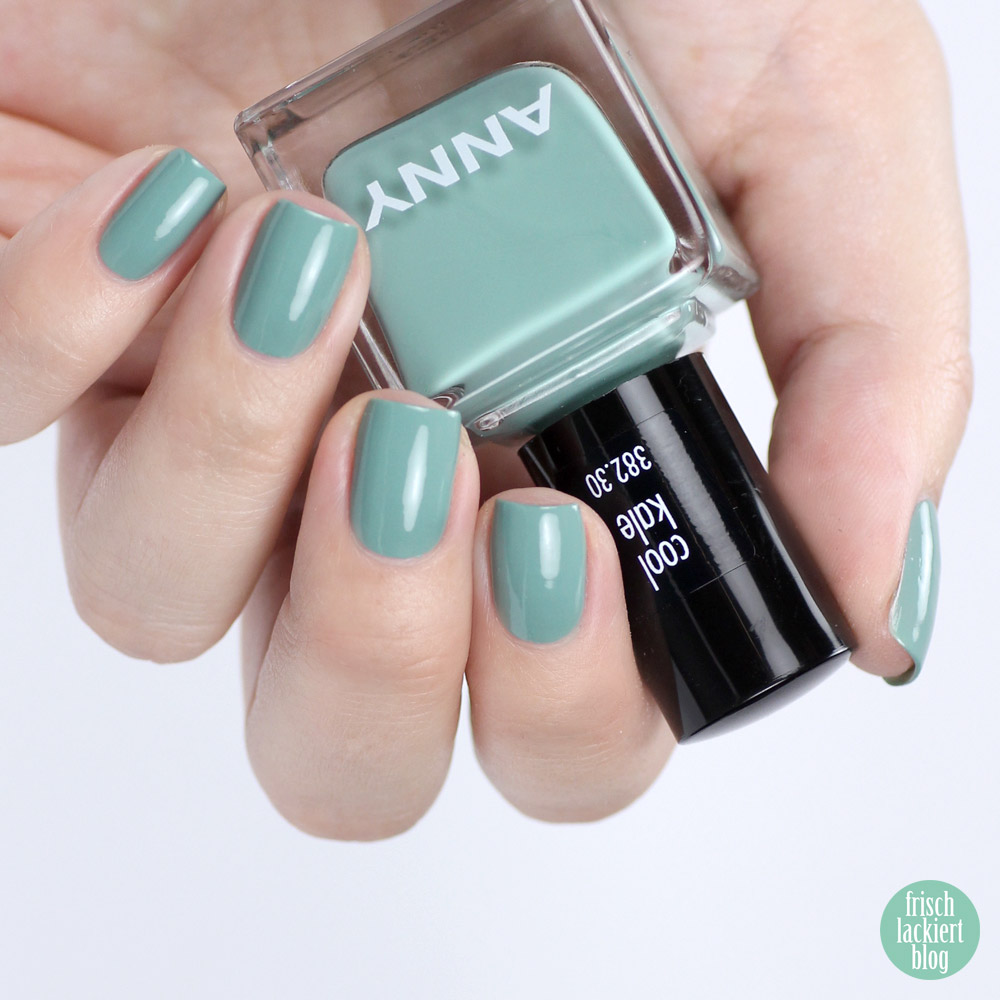 ANNY cool kale – swatch by frischlackiert
