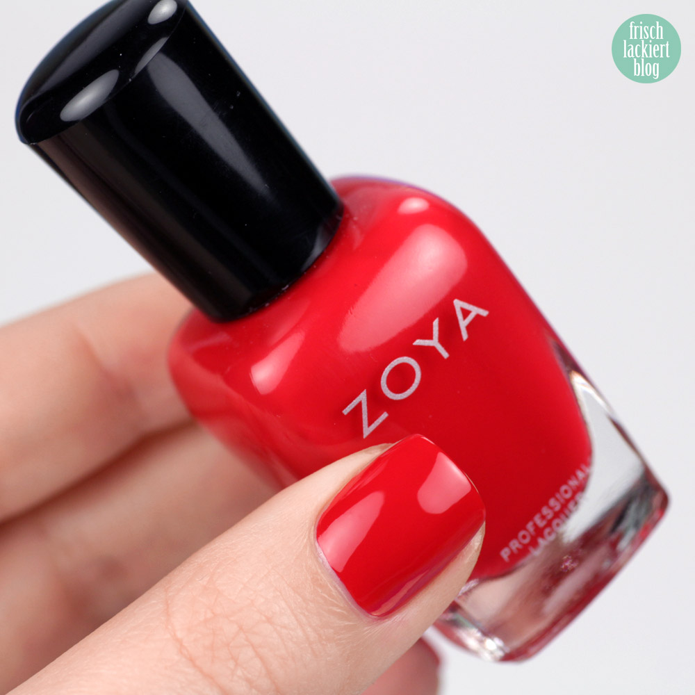 Zoya Sooki – purish.de – roter Nagellack – swatch by frischlackiert