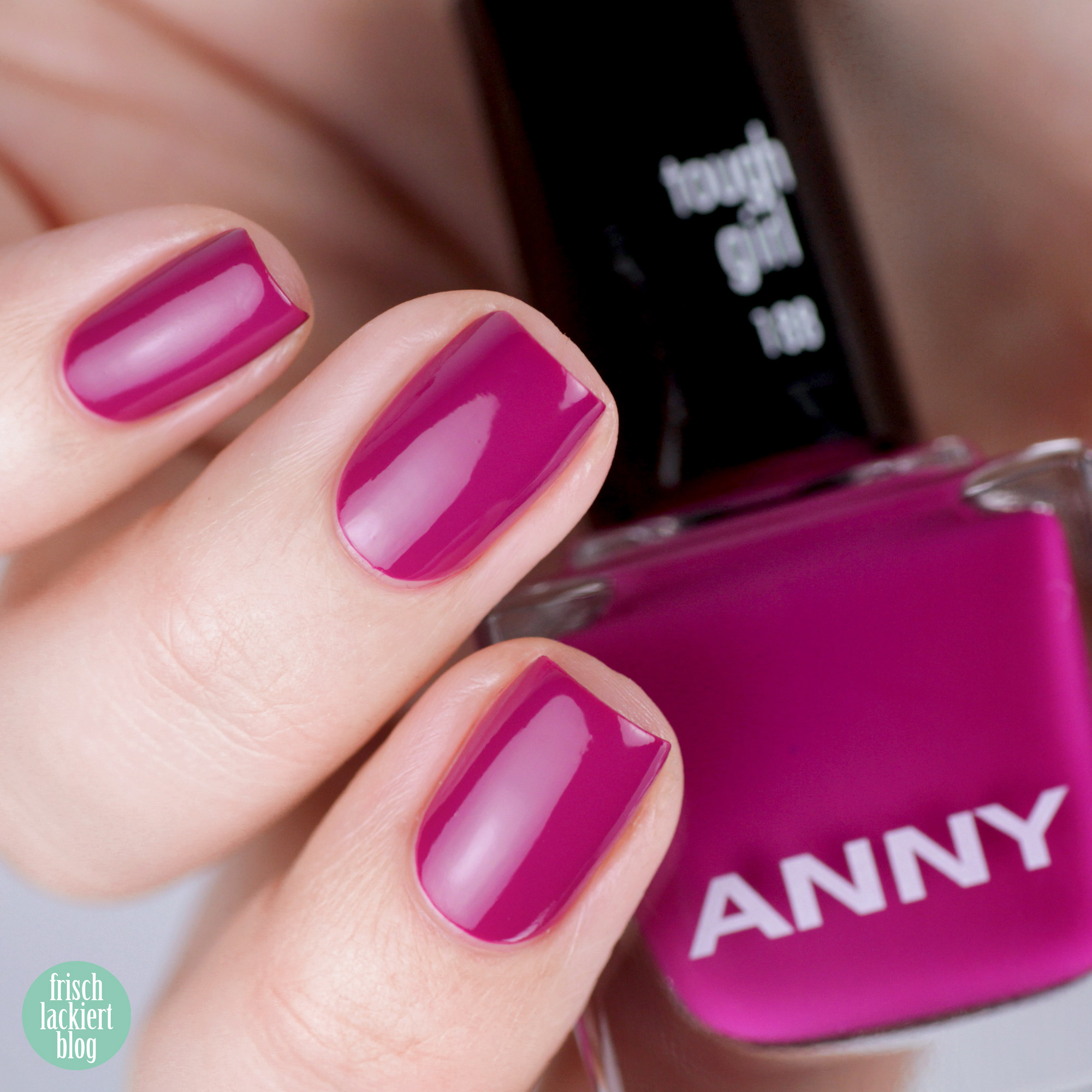 ANNY Holo it´s ANNY Nagellack Kollektion - tough girl – swatch by frischlackiert