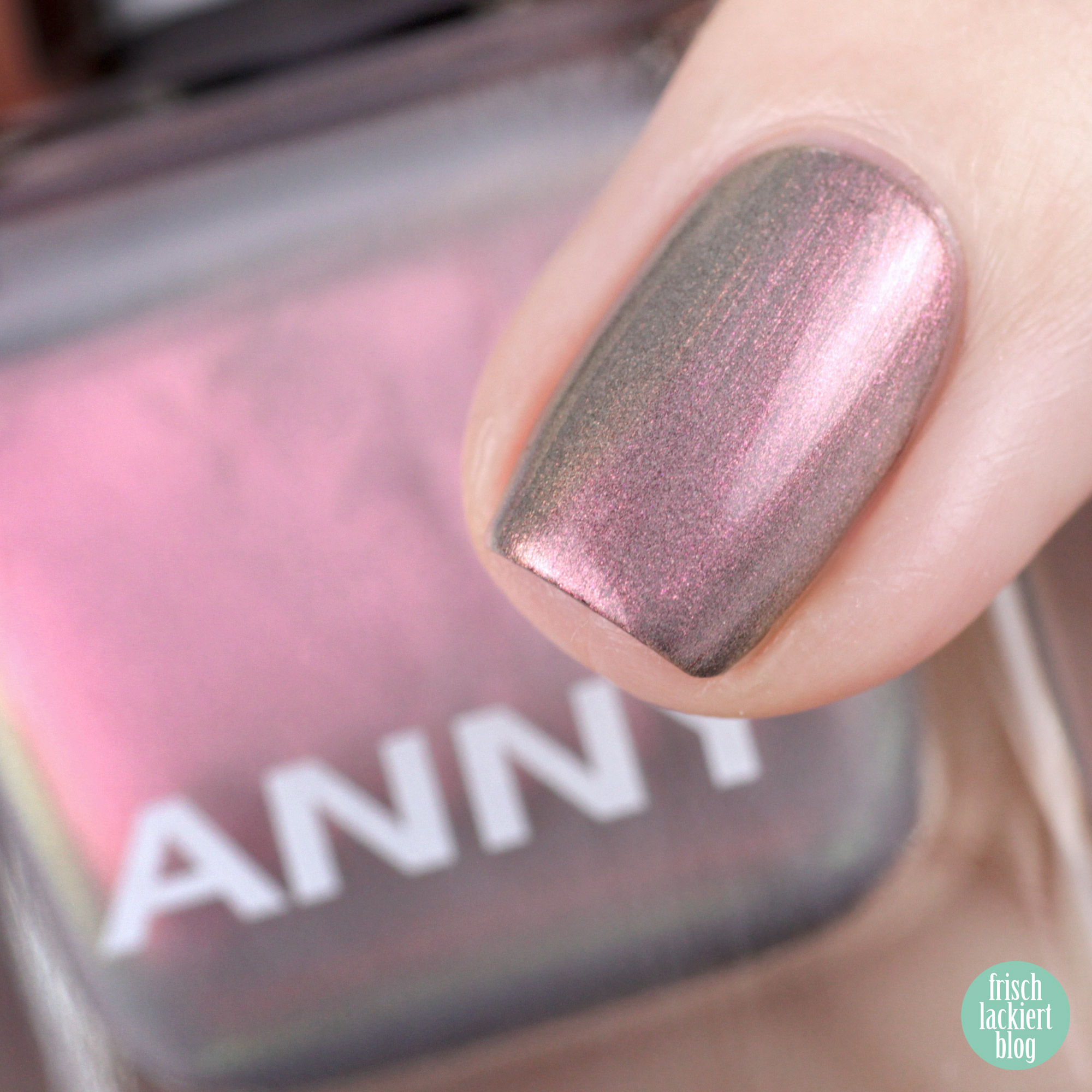 ANNY Holo it´s ANNY Nagellack Kollektion - rainbow walker – swatch by frischlackiert