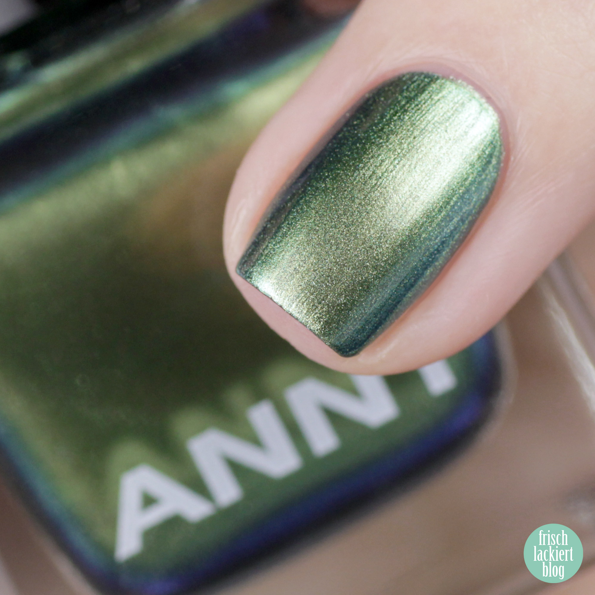 ANNY Holo it´s ANNY Nagellack Kollektion - miss undercover – swatch by frischlackiert