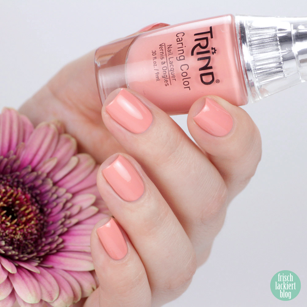 Trind Cosmetics – Welcome to Miami Kollektion / Frühling Sommer 2018 – Nagellack – Oh Flamingo! – Koralle – swatch by frischlackiert