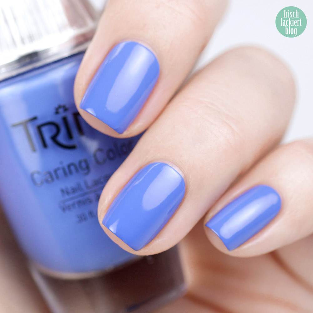 Trind Cosmetics – Welcome to Miami Kollektion / Frühling Sommer 2018 – Nagellack – Ocean Drive – Blau – swatch by frischlackiert