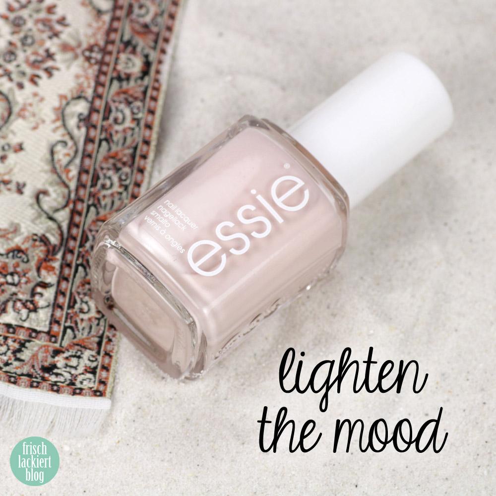 Essie desert mirage Kollektion - lighten the mood – swatch by frischlackiert