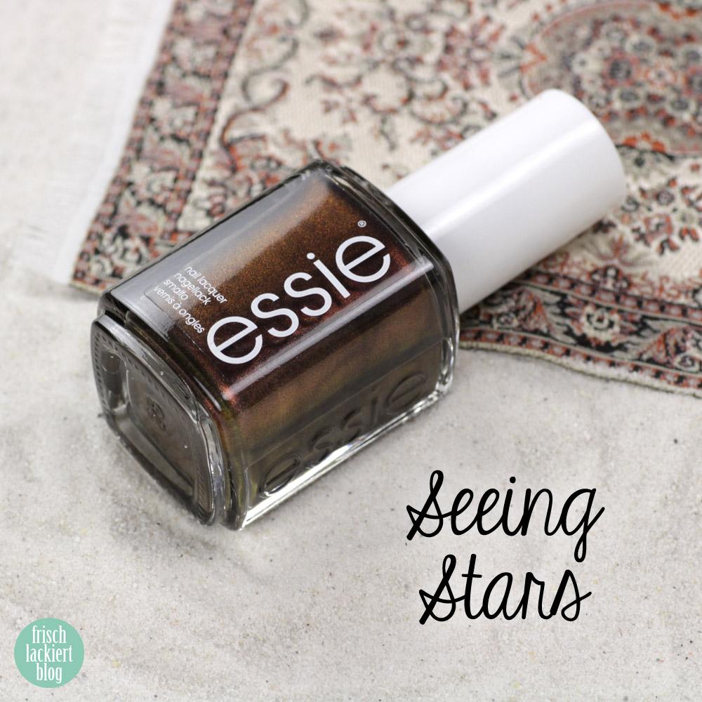 Essie desert mirage Kollektion - seeing stars – swatch by frischlackiert