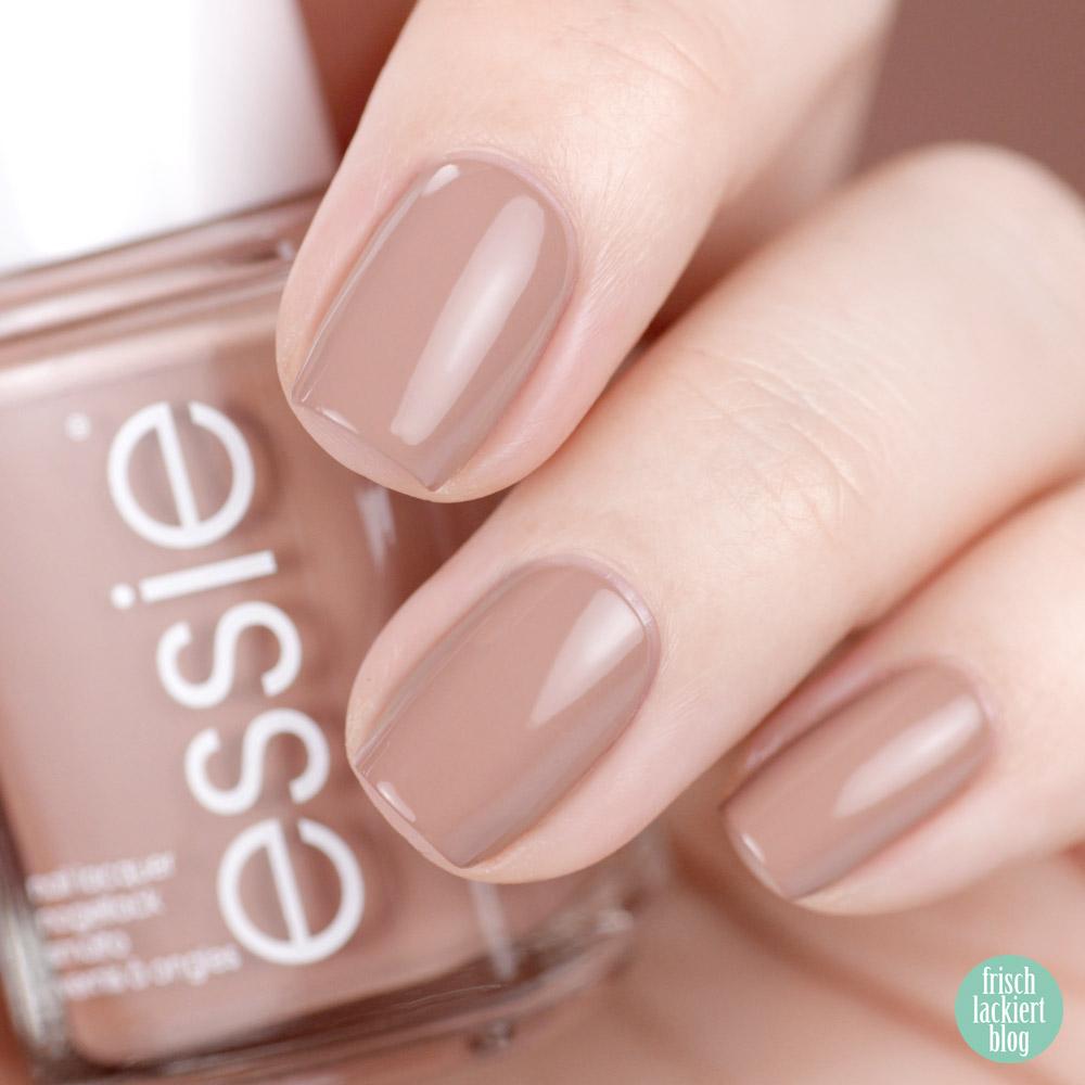 Essie desert mirage Kollektion - less is aura – swatch by frischlackiert