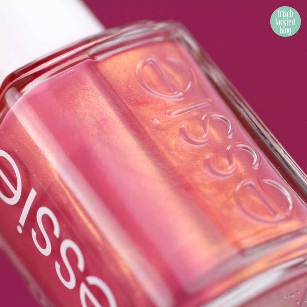 Essie desert mirage Kollektion - let it glow – swatch by frischlackiert