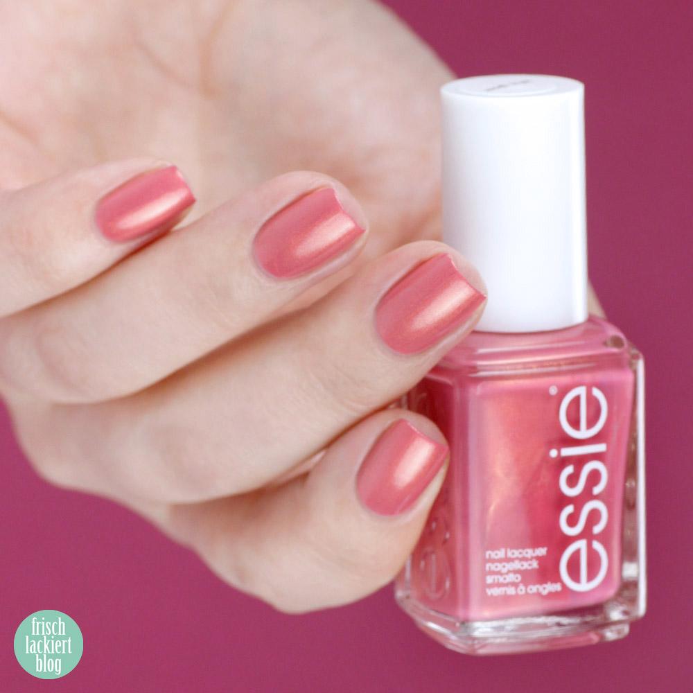 Essie desert mirage Kollektion - let it glow – swatch by frischlackiert