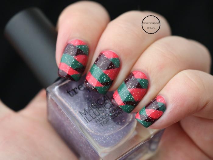 Heartshaped Dream - Gastbeitrag zur Frischlackiertchallenge – Fishtail Nailart