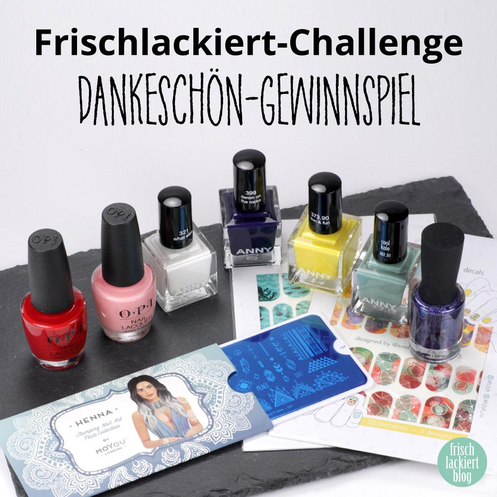Frischlackiert-Challenge Gewinnspiel – by frischlackiert