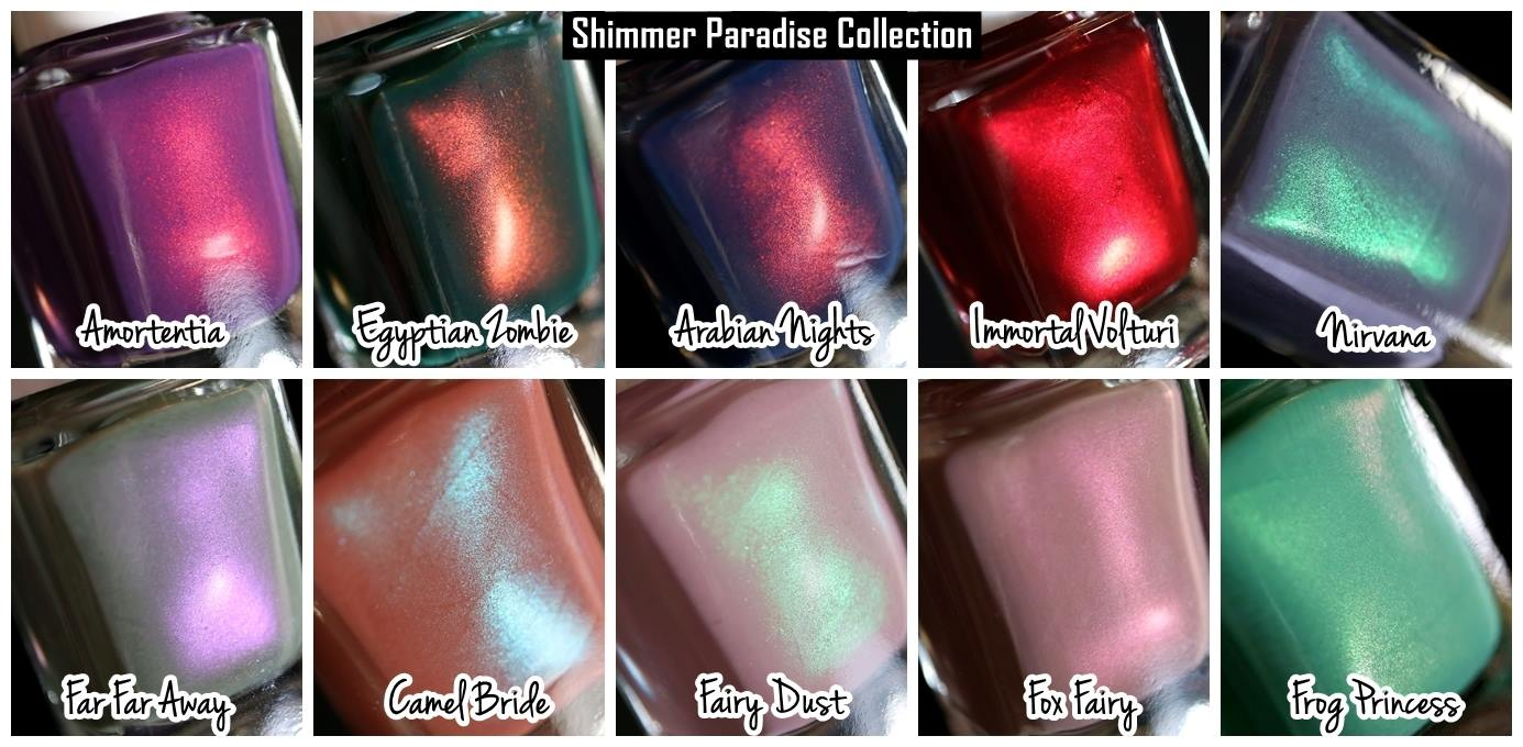 Moo Moo´s Signatures – Shimmer Paradise Collection