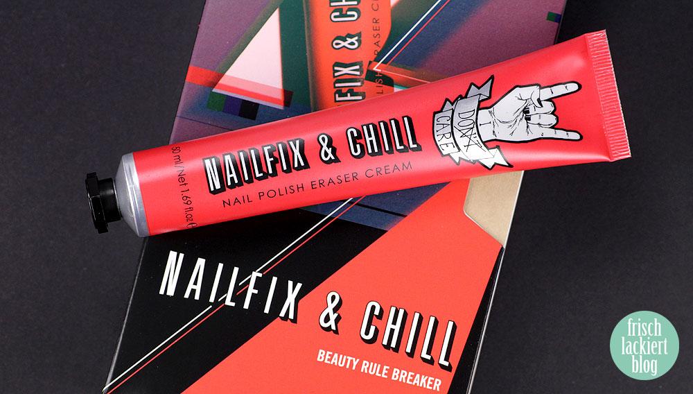 Erfahrung Nailfix & Chill Nagellackentferner Creme – Sign Tribe – Test by frischlackiert