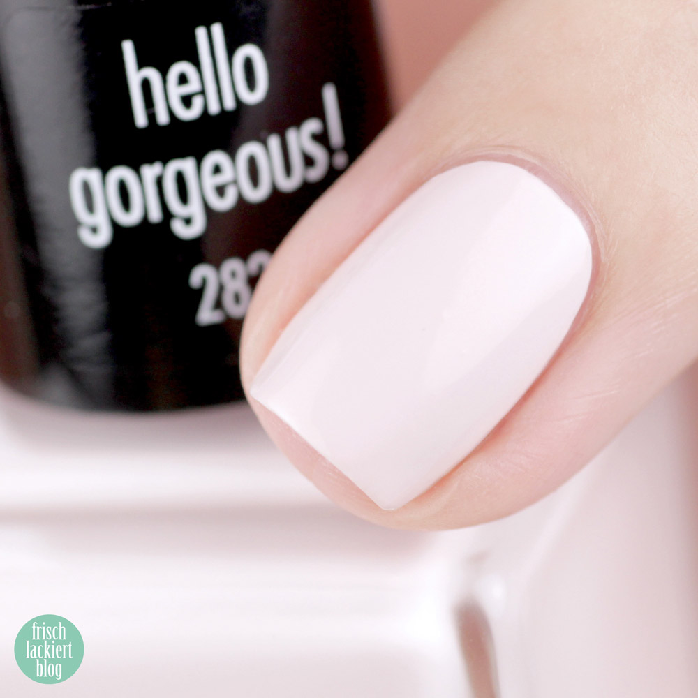 ANNY beverly hills hideaway Kollektion – Nagellack Sommer 2018 – hello gorgeous! – swatch by frischlackiert