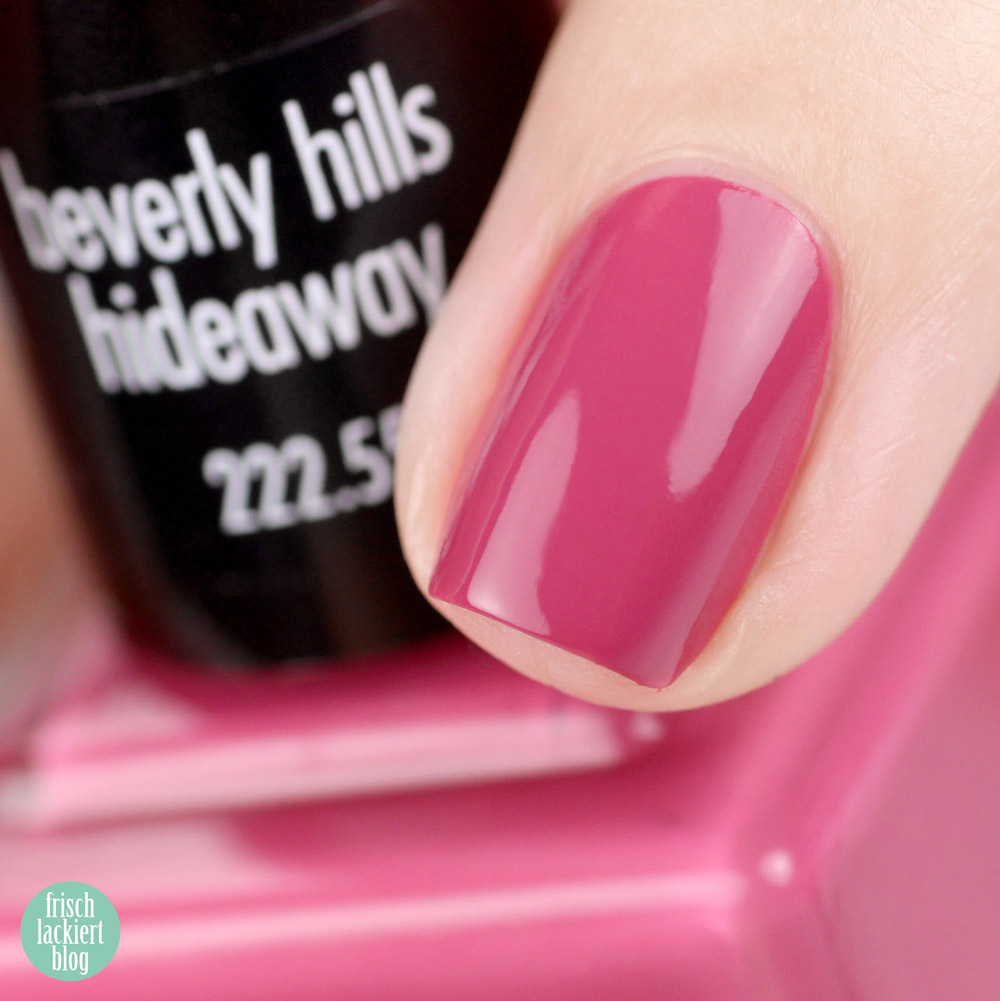 ANNY beverly hills hideaway Kollektion – Nagellack Sommer 2018 – beverly hills hideaway – swatch by frischlackiert